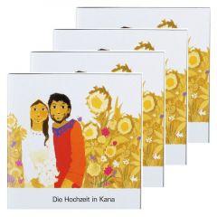 Die Hochzeit in Kana (4er-Pack) Kees de Kort 9783438049131