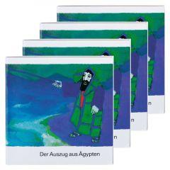 Der Auszug aus Ägypten (4er-Pack) Kees de Kort 9783438049216