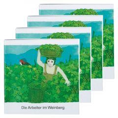 Die Arbeiter im Weinberg (4er-Pack) Kees de Kort 9783438049308