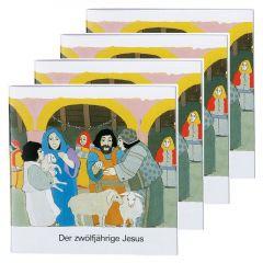 Der zwölfjährige Jesus (4er-Pack) Kees de Kort 9783438049322