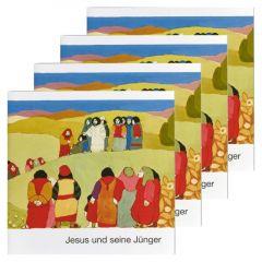 Jesus und seine Jünger (4er-Pack) Kees de Kort 9783438049360