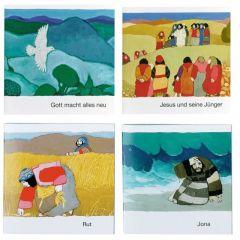 Was uns die Bibel erzählt - Paket AT/NT Haug, Hellmut 9783438049407