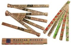 9783460302334 Maßstab Mensch : der Bibelzollstock ; 2000 Jahre Philosophie, Medizin, Persönlichkeiten