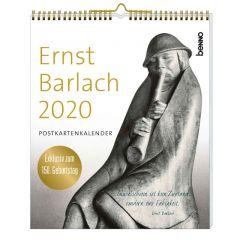 Ernst Barlach Postkartenkalender 2020  9783746253800