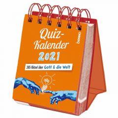 Quizkalender 2021  9783746256351