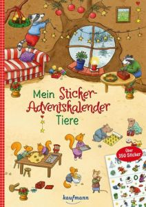 Mein Sticker-Adventskalender Kamlah, Klara/Stickel, Stephanie 9783780609847
