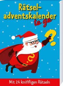 Rätseladventskalender to go 3 Vohla, Ulrike 9783780613639