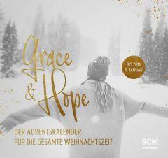 Grace & Hope - Der Adventskalender für die gesamte Weihnachtszeit  9783789398636