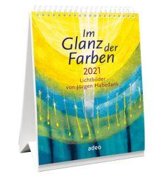 9783863342593 Im Glanz der Farben 2021 - Tischkalender