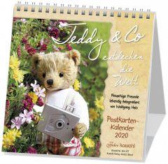 Teddy & Co entdecken die Welt 2020 Hein, Wolfgang 9783880871779