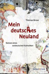9783897108455 Mein deutsches Neuland