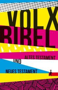 Die Bibel - Die Volxbibel: Altes und Neues Testament, Taschenausgabe: Motiv Streifen-Design Dreyer, Martin 9783940041234