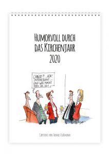 Humorvoll durch das Kirchenjahr 2020 Plaßmann, Thomas 9783961570973