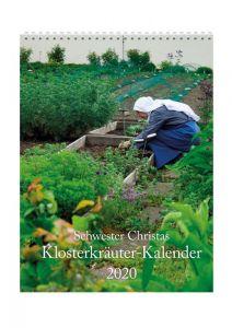 Schwester Christas Klosterkräuter-Kalender 2020 Weinrich, Christa 9783961570980