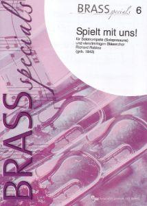 Brass Specials 6 Spielt mit uns für Solotrompete (Soloposaune)