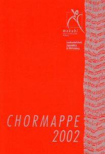 Chormappe 2002 Klaviersatz