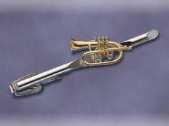 Krawattennadel Flügelhorn