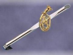 Krawattennadel Tenorhorn klein