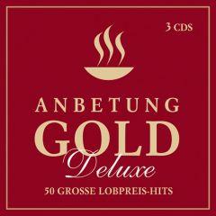 Anbetung Gold Deluxe Adams-Frey, Andrea/Ahrend, Lena/Baltes, Guido u a 4029856464442