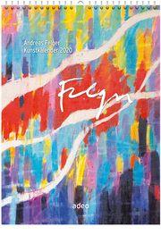 Andreas Felger Kunstkalender 2020 Felger, Andreas 9783863342258