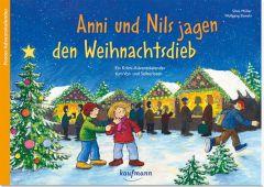 Anni und Nils jagen den Weihnachtsdieb Slawski, Wolfgang 9783780608956