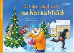 Auf der Jagd nach dem Weihnachtsdieb Möller, Silvia/Holzmann, Angela 9783780609038