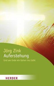 Auferstehung Zink, Jörg 9783451062711