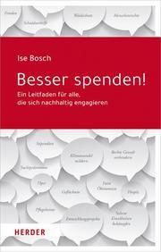 Besser spenden! Bosch, Ise 9783451390234