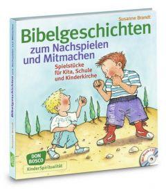 Bibelgeschichten zum Nachspielen und Mitmachen Brandt, Susanne/Göth, Martin 9783769819267