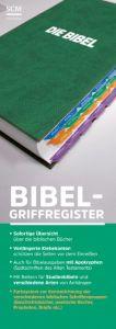 Bibel-Griffregister mit Farbsystem  9783417257809