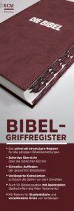 Bibel-Griffregister rot  9783417257830
