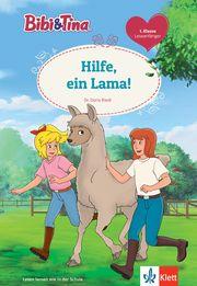 Bibi & Tina: Hilfe, ein Lama! Riedl, Doris 9783129496145