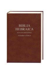Biblia Hebraica Stuttgartensia Donald R Vance/Yael Avrahami/George Athas et al 9783438052254