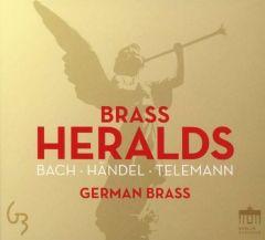 Brass Heralds Bach, Johann Sebastian/Händel, Georg Friedrich u a 0885470010052