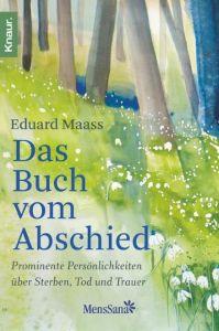 Das Buch vom Abschied Maass, Eduard 9783426876312