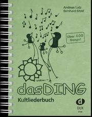 Das Ding Bitzel, Bernhard/Lutz, Andreas 9783934958661