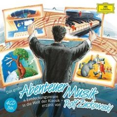 Das große Abenteuer Musik Vivaldi, Antonio/Mozart, Wolfgang Amadeus/Lortzing, Albert u a 0028947966555