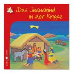 Das Jesuskind in der Krippe Astrid Krömer 9783766616500