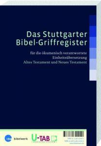 Das Stuttgarter Bibel-Griffregister  9783460320000