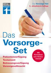 Das Vorsorge-Set Bohnenkamp, Ruth/Weidner, Simone 9783747100349