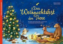 Das Weihnachtsfest der Tiere Stickel, Stephanie 9783780608949