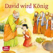 David wird König. Mini-Bilderbuch Nommensen, Klaus-Uwe 9783769824391