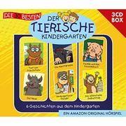 Die 30 besten: Der tierische Kindergarten - 3CD Hörspielbox Hainer, Lukas/Schürjann, Markus/MS Urmel u a 4260167472539