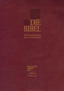 Die Bibel Franz Eugen Schlachter 9783893970346