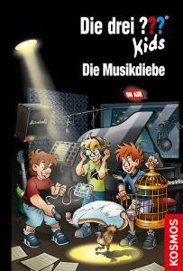 Die drei ??? Kids - Die Musikdiebe Pfeiffer, Boris 9783440159415