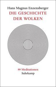 Die Geschichte der Wolken Enzensberger, Hans Magnus 9783518413913