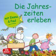 Die Jahreszeiten erleben mit Emma und Paul Lehner, Monika 9783769824346
