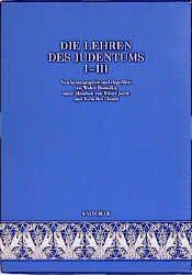 Die Lehren des Judentums nach den Quellen Walter Homolka/Walter Jacob/Tovia Ben-Chorin 9783934658028