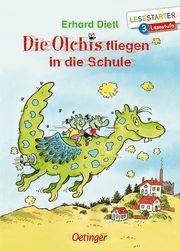 Die Olchis fliegen in die Schule Dietl, Erhard 9783789112652