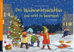 Drei Weihnachtsdetektive sind nicht zu bremsen Lückel, Kristin/Pricken, Stephan 9783780608888